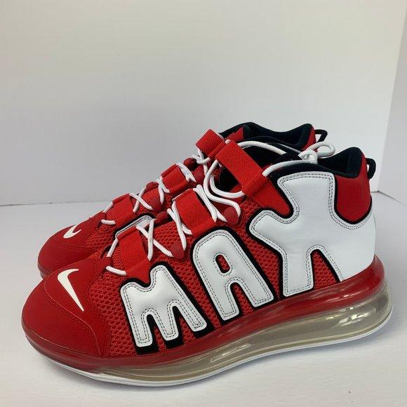descuento Tener cuidado de excepcional gama de estilos y colores Nike Shoes   Air More Uptempo 720 Qs 2 University Red   Poshmark